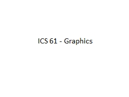 ICS 61 - Graphics Light Color Wheel