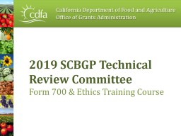 2019 SCBGP Technical Review Committee PowerPoint PPT Presentation