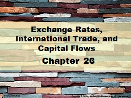 Exchange Rates, International Trade, and Capital Flows