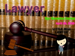 Lawyer By: Berenice Cortez