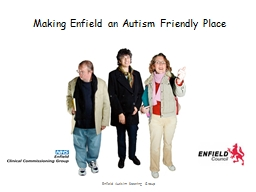 Making Enfield an Autism Friendly Place