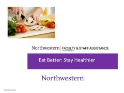 GCHH4PUHH  0514 Eat Better: Stay Healthier