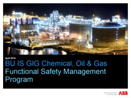BU  IS GIG Chemical, Oil & Gas