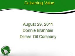 August 29, 2011 Donnie Branham