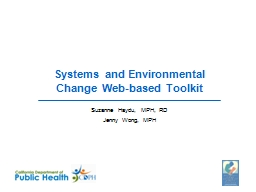 Systems and Environmental