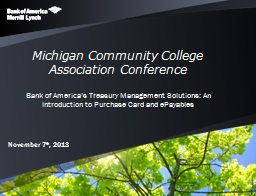 Michigan Community College Association Conference