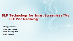 DLP Technology for Smart