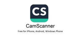 CamScanner Free for iPhone, Android, Windows Phone