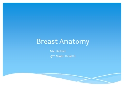 Breast Anatomy  Ms. Kehoe PowerPoint PPT Presentation
