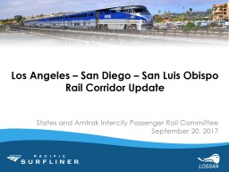 States and Amtrak Intercity Passenger Rail Committee
