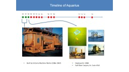 Timeline of Aquarius Built by Victoria Machine Works (1986-1987)