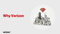Why Verizon Network performance