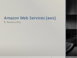 Amazon Web Services ( aws
