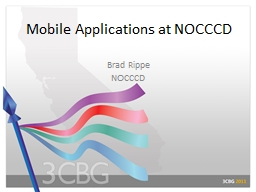 Mobile Applications at NOCCCD