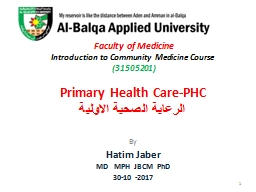 Faculty of Medicine   Introduction