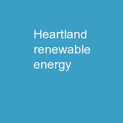 Heartland Renewable Energy