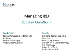 Managing IBD Treatment of IBD PowerPoint PPT Presentation