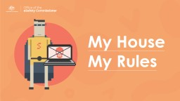 My House My Rules YOUR ONLINE HOME