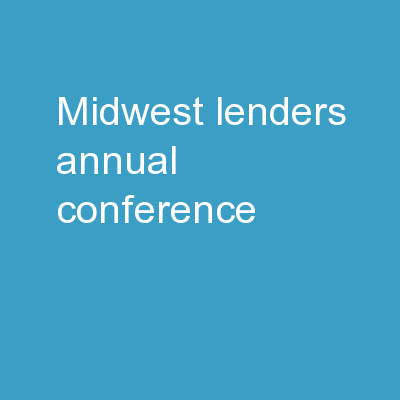 Midwest Lenders Annual Conference