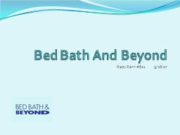 Bed Bath And Beyond Rady