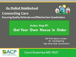 Connecting Care Ensuring