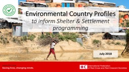Environmental  Country  Profiles PowerPoint Presentation, PPT - DocSlides