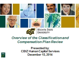 Overview of the Classification and Compensation Plan Review