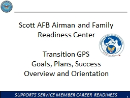 Scott AFB Airman and Family Readiness Center