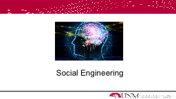 Social Engineering Survey Results PowerPoint PPT Presentation