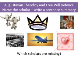 Augustinian Theodicy and Free Will Defence