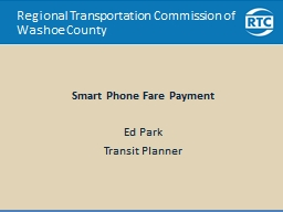 Regional Transportation Commission of Washoe County