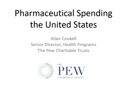 Pharmaceutical Spending the United States