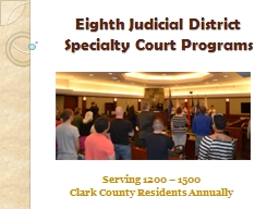 Eighth Judicial District