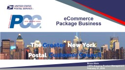 eCommerce Package Business