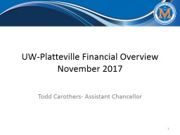 UW-Platteville Financial Overview
