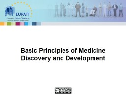 Making a Medicine: The basic principles