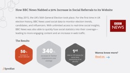 How BBC News Nabbed a 50% Increase in Social Referrals to its Website PowerPoint PPT Presentation