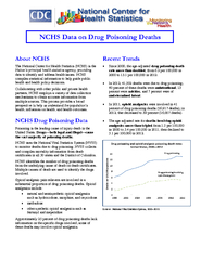 The National Center for Health Statistics NCHS is the