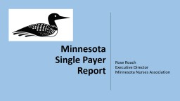 Minnesota Single Payer Report