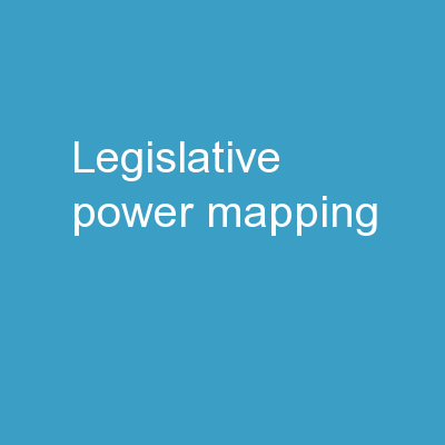 Legislative Power Mapping