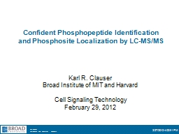 Confident  Phosphopeptide