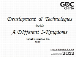 Development & Technologies