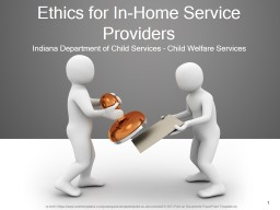 Ethics for In-Home Service Providers