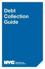 Debt Collection Guide  This Update includes new inform