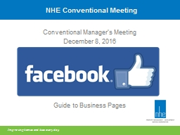NHE Conventional Meeting