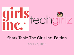 Shark Tank: The Girls Inc. Edition