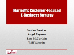Marriott�s Customer-Focused