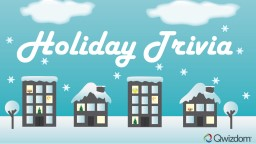Holiday Trivia Name a food item people often string together to make garland?