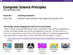 Computer Science Principles