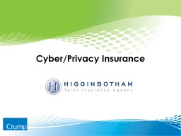 Cyber/Privacy Insurance